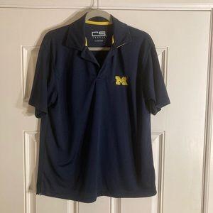 University of Michigan polo shirt